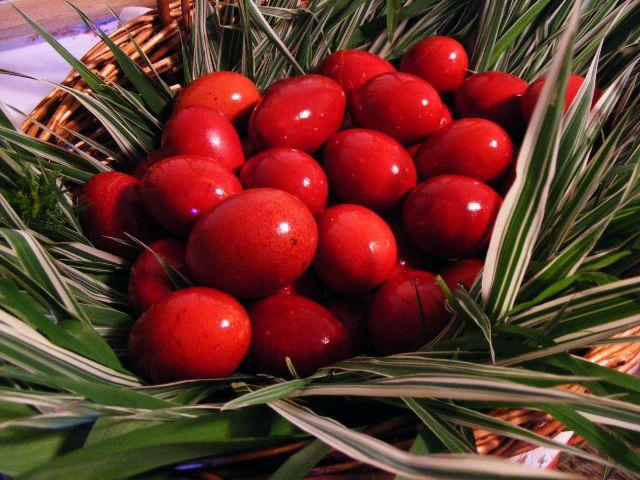 црвено јајце