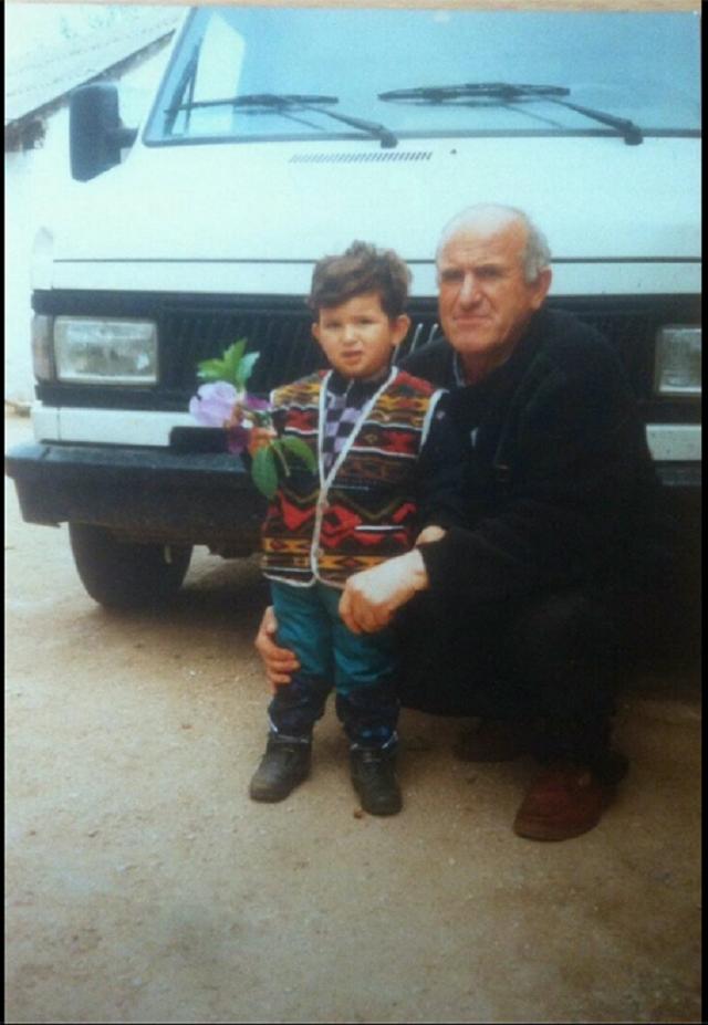 Ален Хасановиќ со дедо му