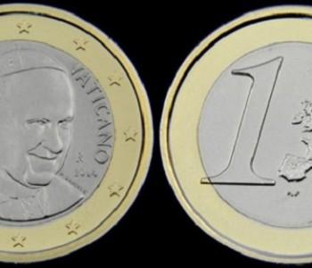 Ликот на Папата Франциско повеќе нема да стои на ватиканските монети