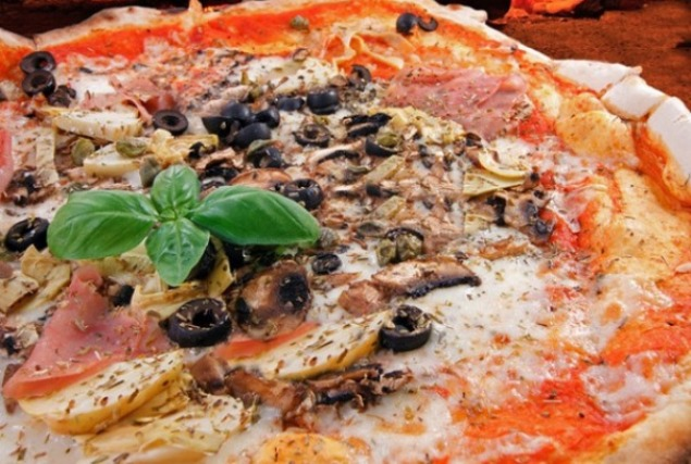 пица капричиоза