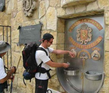 Чешма со бесплатно вино во Шпанија