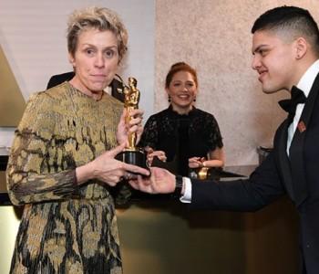 Во неделата доби Оскар, а по церемонијата и го украдоа