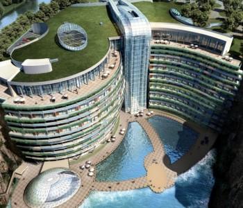 Шангајско чудо – хотел со 16 ката под земја