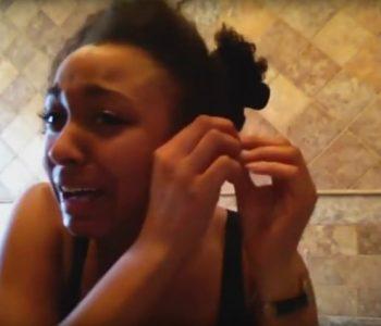 Сакаше да покаже одличен туторијал за фризура – остана без коса (видео)