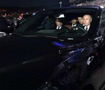 """Путин го провозе египетскиот претседател во новиот ,,ѕвер"""" (ВИДЕО)"""