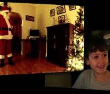 Ова седумгодишно момче има доказ дека Дедо Мраз постои (ВИДЕО)