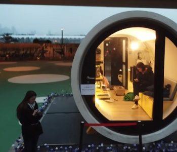 Решение за станбената криза во Хонг Конг: Куќи од 10 квадратни метри (ВИДЕО)