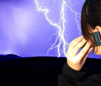 Може ли мобилен телефон да привлече гром?