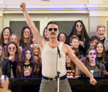 Хит на социјалните мрежи: Професор од Вараждин се збогувал со учениците настапувајќи како Фреди Меркјури