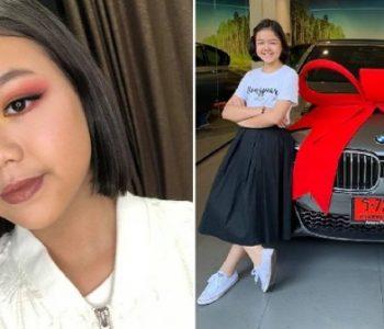 Ова 12 годишно девојче си се почасти за својот роденден со луксузен автомобил: Еве како ги заработи парите!