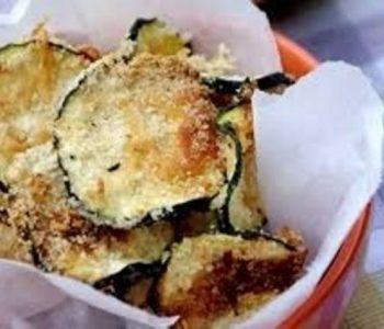 Вкусно и здраво мезе – Печени тиквички со пармезан