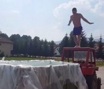 Хит видео: Овие дечки направија подвижен базен(видео)