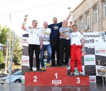 Градоначалникот Митко Јанчев учествуваше на рели трка (видео)