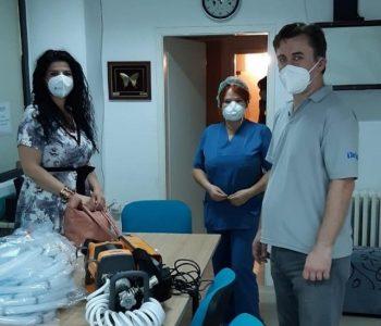 """""""Кожувчанка"""" донираше вредна медицинска опрема за справување со COVID19 кризата"""