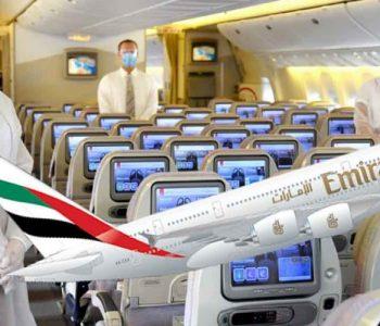 Emirates на патниците кои ќе се заразат со корона во авион им ги покрива трошоците за лекување