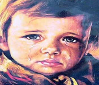 """Приказната за оваа слика стана урбана легенда! Сите се плашат од """"Момчето што плаче"""""""